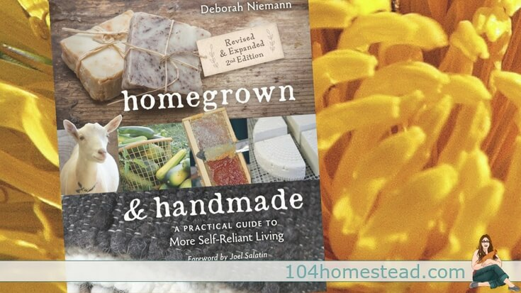 """Homesteading is not defined by where someone lives, such as the city or the country, but by the lifestyle choices they make."" - Homegrown & Handmade"
