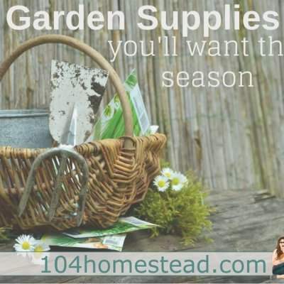 Garden Supplies You'll Want This Season