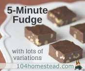 5-Minute Homemade Fudge (with lots of variation suggestions)