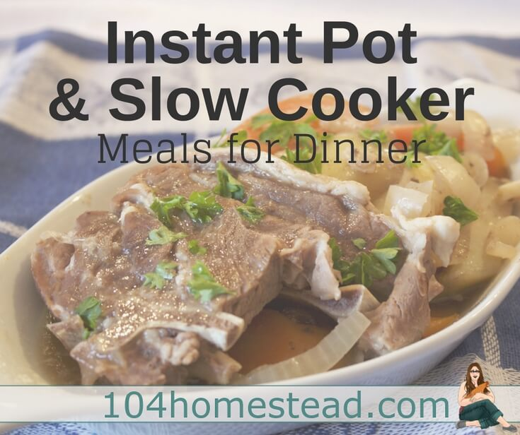 Some tips for using slow cookers and an Instapot, plus plenty of recipes to keep your dinners covered whenever the need arises.